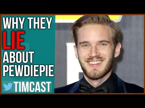 Pewdiepie, Elon Musk SMEARED By Desperate Mainstream Media